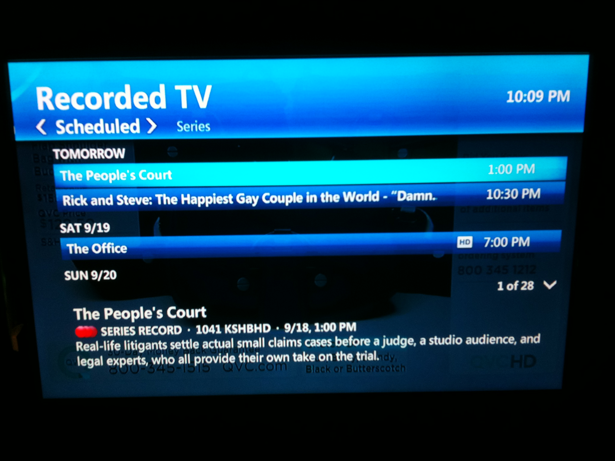 Lawrence Broadband Observer: Quick tour of some of the U-Verse TV UI